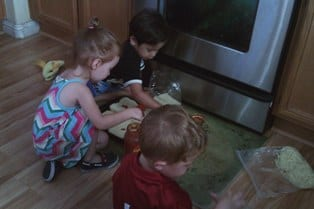 Someone's in the Kitchen with Mommy – Part 3 (Cooking with Kids)
