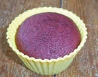Red Velvet Cupcake with beets