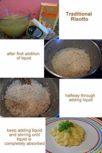 tradtional risotto