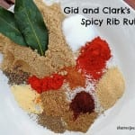 Sweet and Spicy Barbecue Rib Rub for ribs, chicken, steak, pork etc.