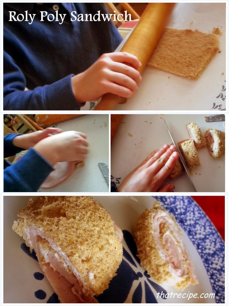 Roly Poly Sandwich from Cook School