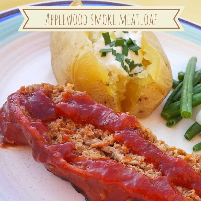 Gourmet Warehouse Applewood Smoke Meatloaf - thatrecipe.com
