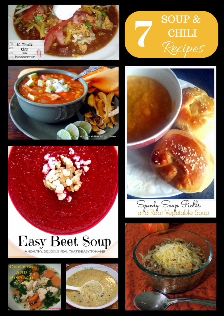 7 Healthy Soup and Chili Recipes