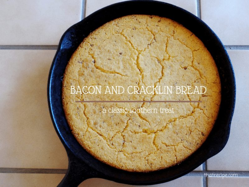 Bacon and Crackling Bread
