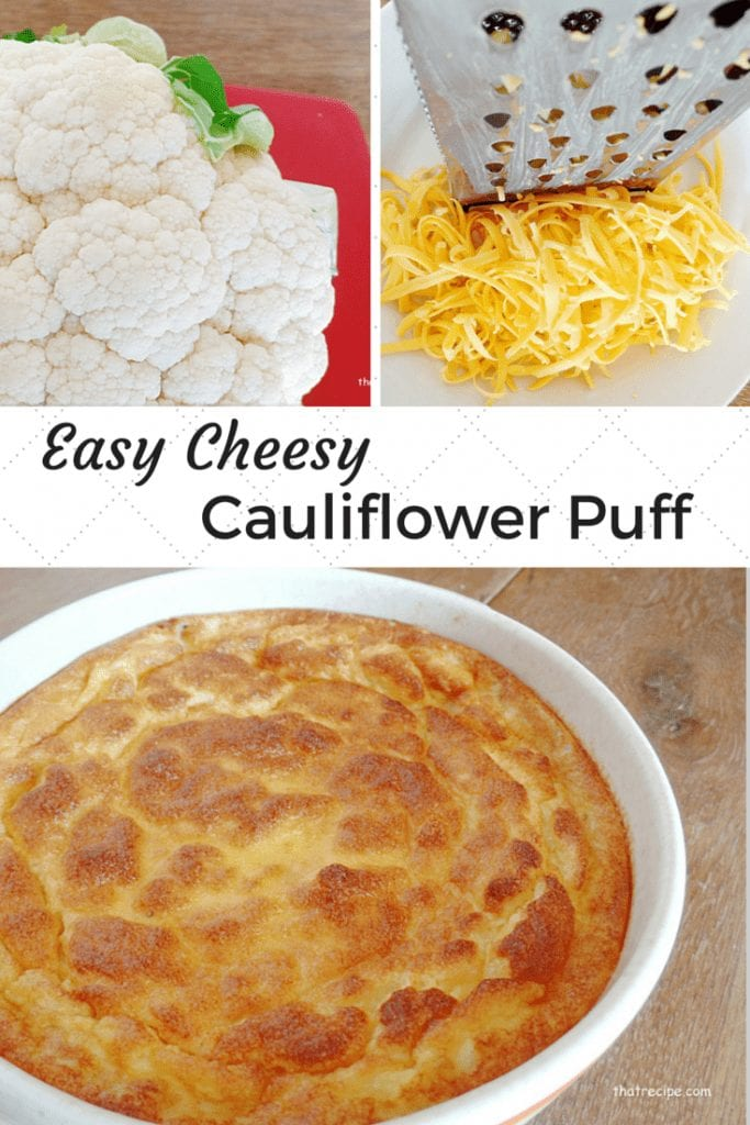 Cauliflower and Cheese Puff