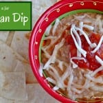 Gifts in a Jar: Bean Dip Mix - combine bean flour and spices to make a simple bean dip. Pack it in a jar to give as a gift. Gluten Free, plus Dairy Free options