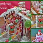 Gingerbread House - easy recipe to make your own gingerbread house with royal icing.