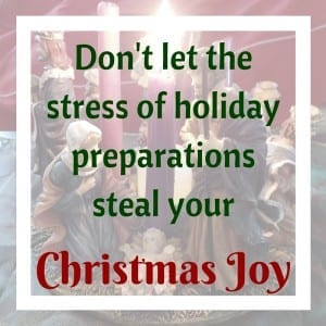 Enjoy the holiday season instead of worrying about getting everything done