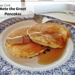 Nate the Great's Pancake Recipe - simple pancake recipe kids can make themselves based on Nate the Great by Marjorie Sharmat.