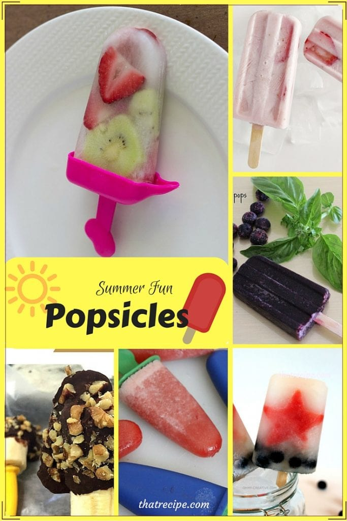Summer Treats: Popsicles - not your ordinary popsicles: blueberry basil, strawberries and cream, whole fruit patriotic pops, strawberry kiwi and more.