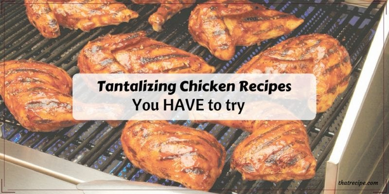 Tantalizing Chicken Recipes You Have to Try