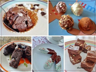 20 of our favorite Chocolate Recipes including cookies, cakes, candy, ice cream, donuts, brownies and more. Plus giveaway