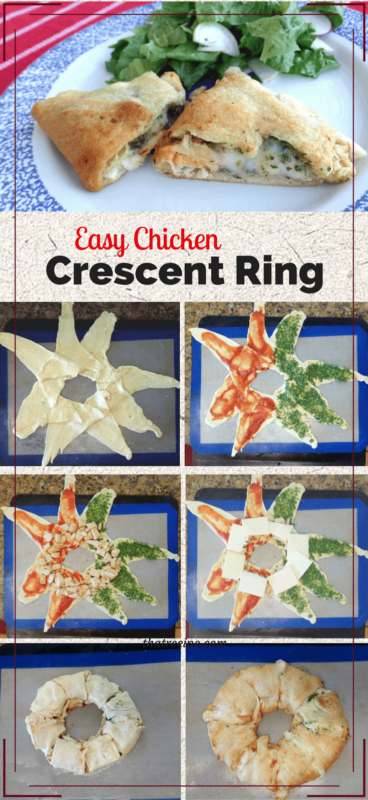 chicken crescent ring collage