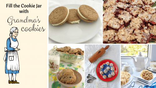 Collection of Grandma's cookie recipes.