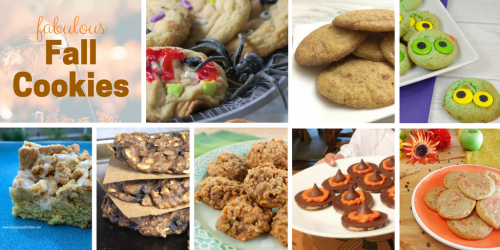 Collection of AUtumn COokie recipes