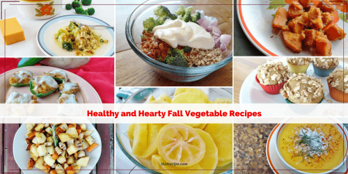 Fabulous Fall Vegetable recipes for carrots, pumpkin, winter squash, sweet potatoes, broccoli and cauliflower.