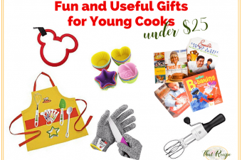 Fun and Useful Gifts for Young Cooks for under $25 #TastyTuesdays