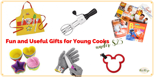 Practical and fun gifts for young cooks under $25.