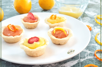 So Creamy and Easy: Lemon Curd Cookie Cups