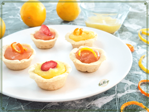 lemon curd and orange curd cookies