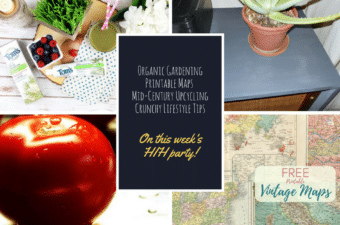 Gardening, Upcycling and Frugal Living on Happiness is Homemade