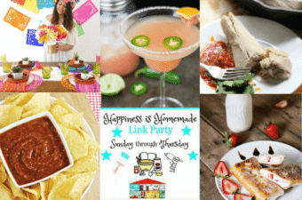 It's Fiesta Time on Happiness is Homemade