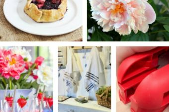 Happiness is Homemade Farmhouse Style Pretty in Pink