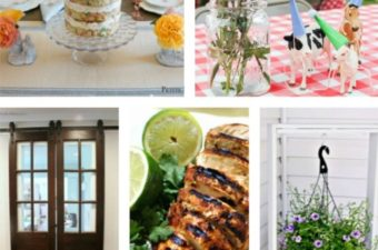 Parties, Plants and Barn Doors on Happiness is Homemade