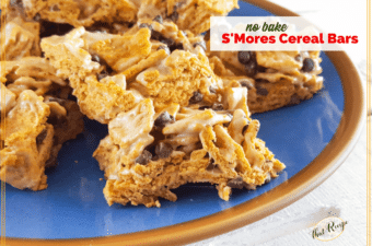 No Bake S'mores Cereal Bars Are a Delicious Treat Year Round