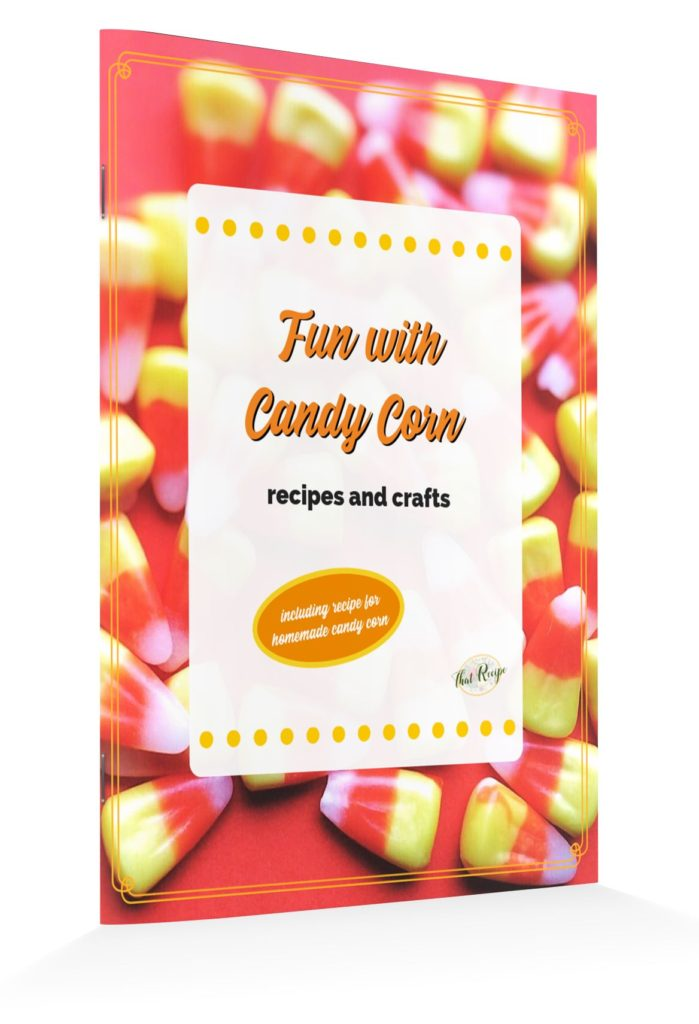 Creative Autumn crafts and recipes you can make with candy corn plus our homemade candy corn recipe. #candycorn #halloweencrafts #halloweenrecip