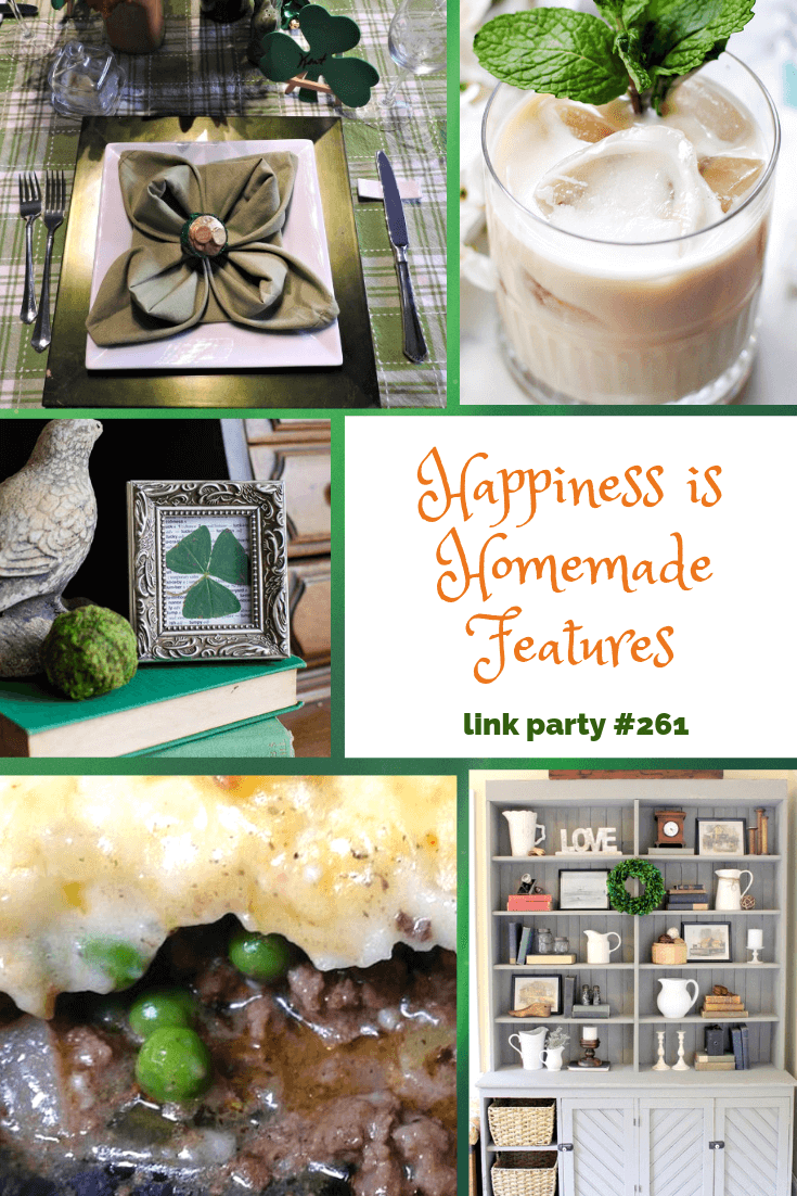 Happiness is Homemade St Patrick's Day Collage